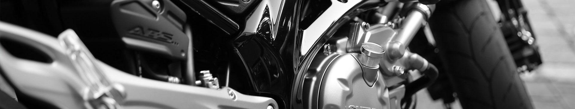 Een motor met een motorverzekering