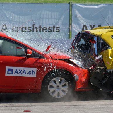 auto ongeluk met een aansprakelijkheidsverzekering