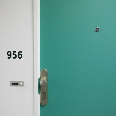 slot van een deur verzekeren