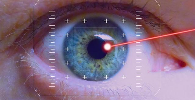 verzekerd zijn voor ooglasering